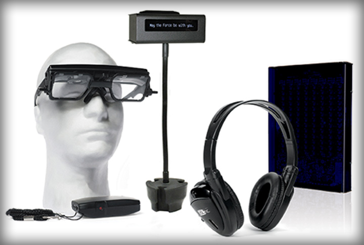 Image of various accessibility devices